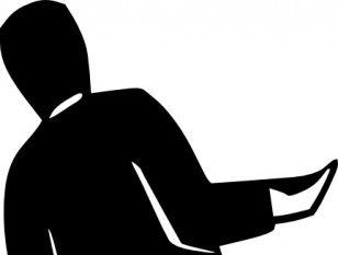 308x233 Man Standing Silhouette Clip Art Free Vectors Ui Download
