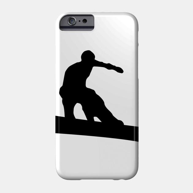 630x630 Snowboard Silhouette