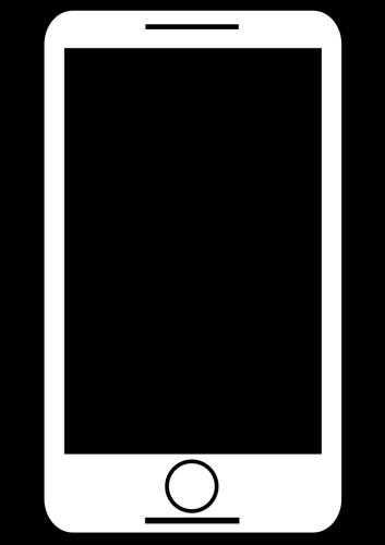 353x500 Black Tablet Silhouette Public Domain Vectors