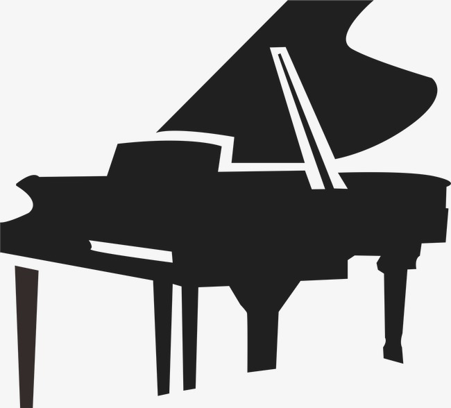 650x588 Piano Silhouette, Black, Piano, Musical Instruments Png And Vector