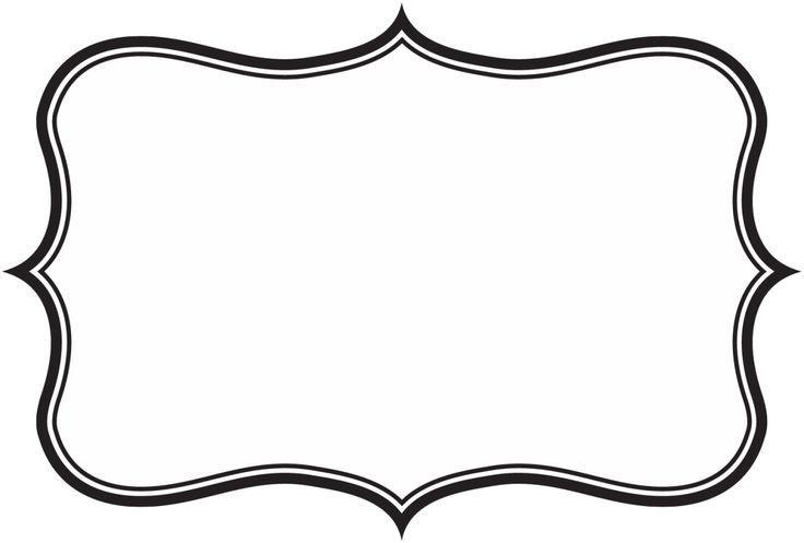 736x497 Label Frame Clip Art World Of Label