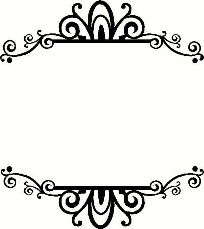 400x450 Frame I Vinyl Decal Borders Amp Frames Vinyl Decals Vinyl