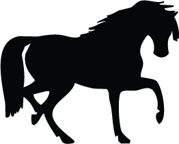 262x210 Horse Silhouette Silhouette Of Horse