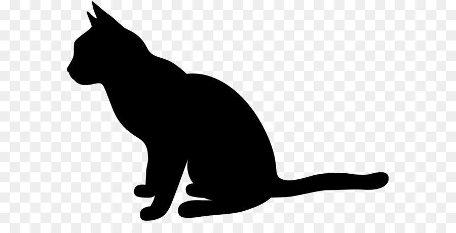 900x460 Cat Silhouette Clip Art