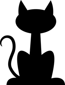 229x300 Dog And Cat Silhouette Clip Art Free Clipart Panda