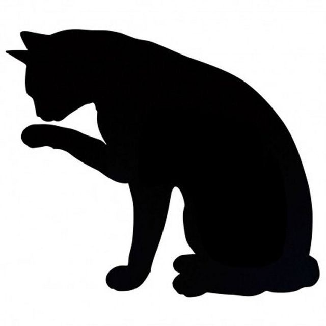 640x640 48 Best Cat Silhouettes Images On Black Cats, Black