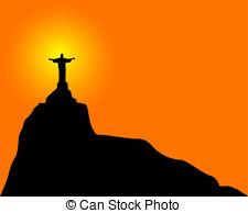 225x194 Jesus Christ Redeemer Clipart Vector Graphics. 413 Jesus Christ