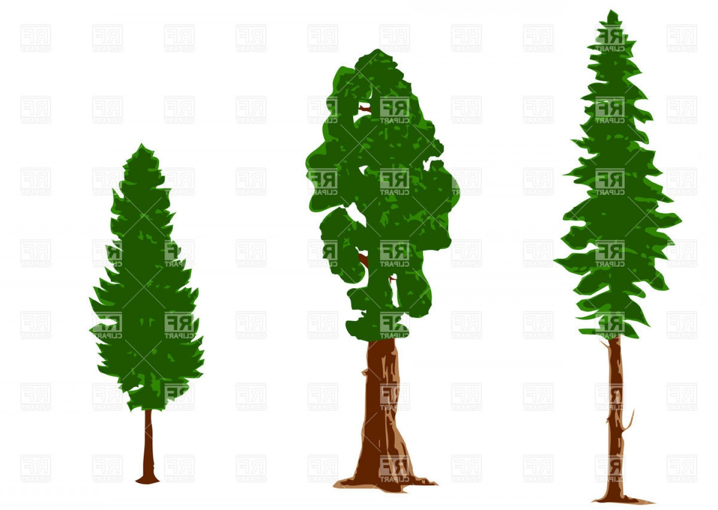 1440x1023 Silhouettes Of Pine Trees Vector Clipart Createmepink