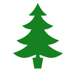 300x300 Trees Clipart Silhouette