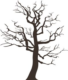 236x278 Branch Silhouettes Clipart Clip Art Tree Silhouettes By Pinkpueblo
