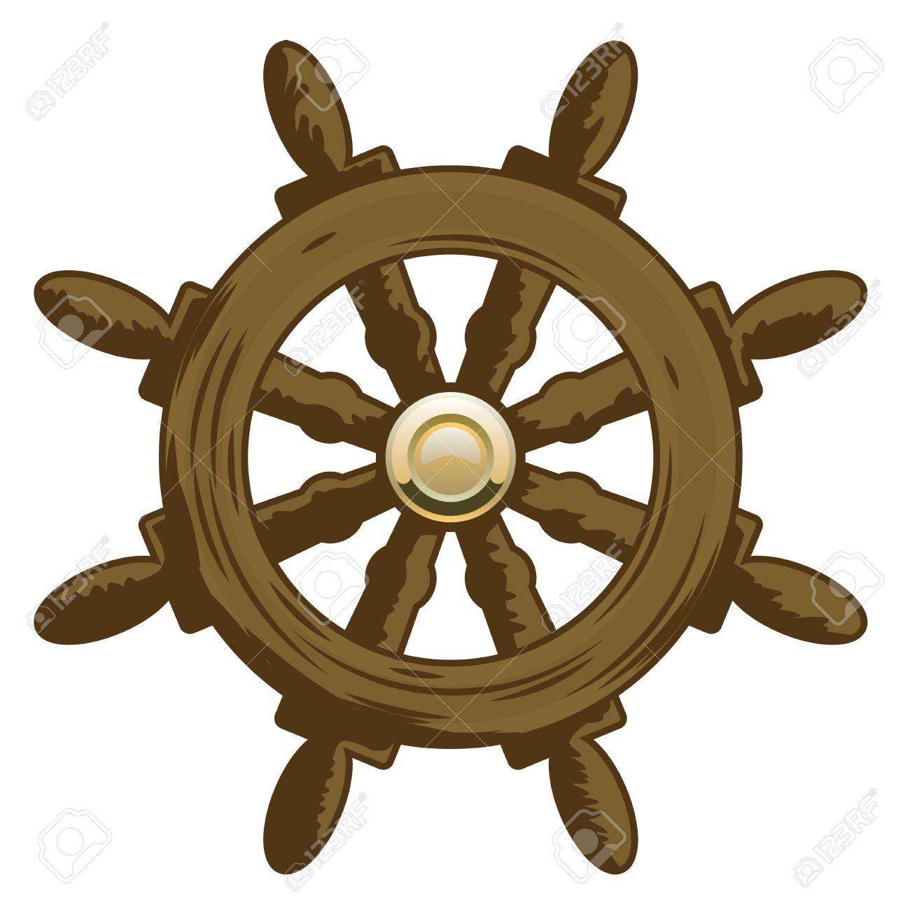 1300x1300 Ship Wheel Clipart