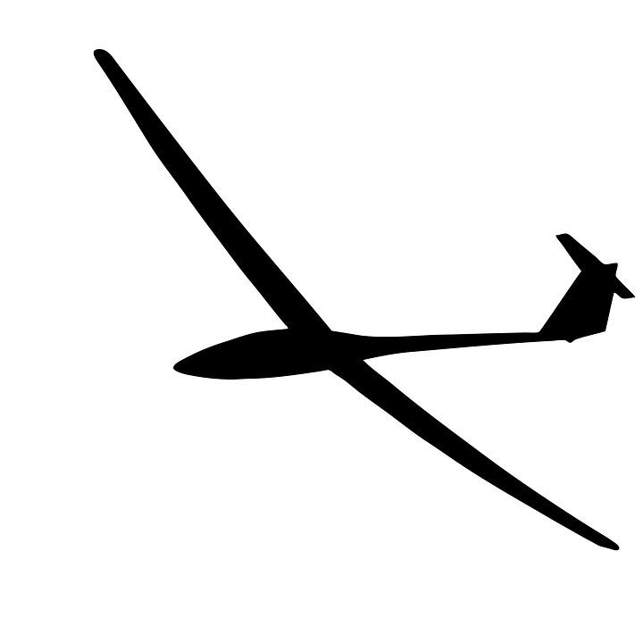 720x720 Free Photo Silhouette Gliding Aeroplane Plane Fly Glider