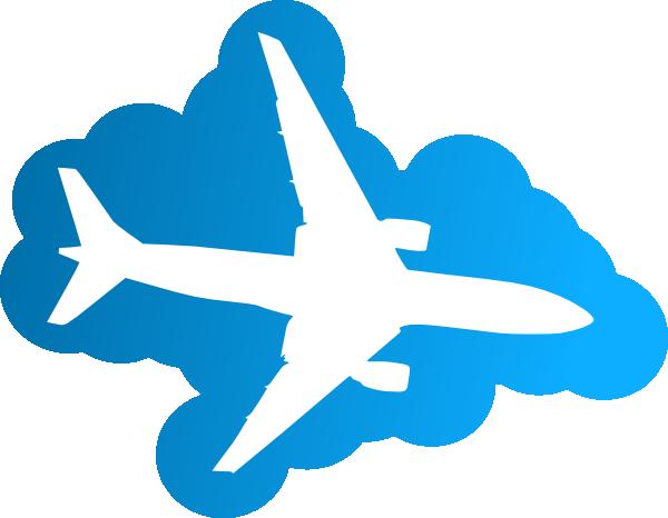 600x466 Plane Silhouette Clip Art