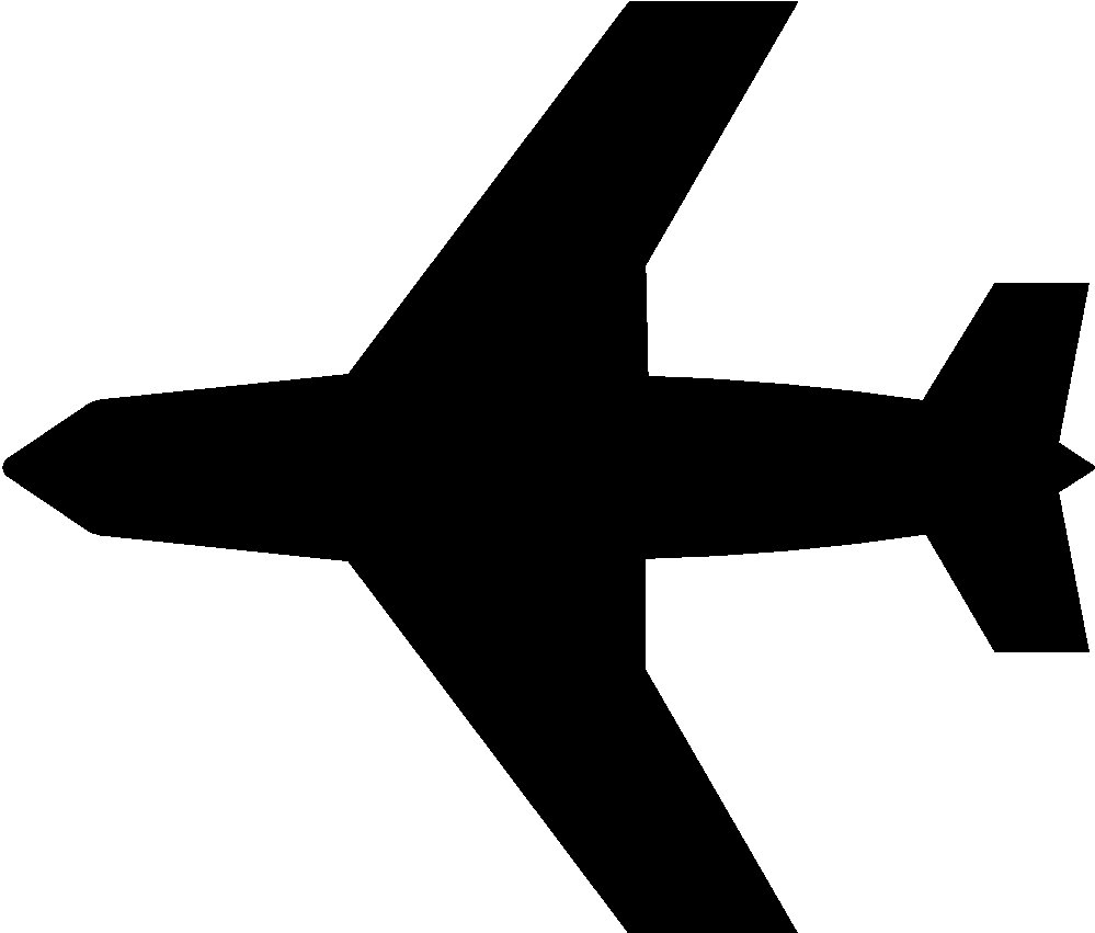 999x851 Small Jet Clipart Silhouette