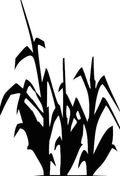 415x609 Black, Dark, Landscapes, Outline, Nature, Plants, Florae
