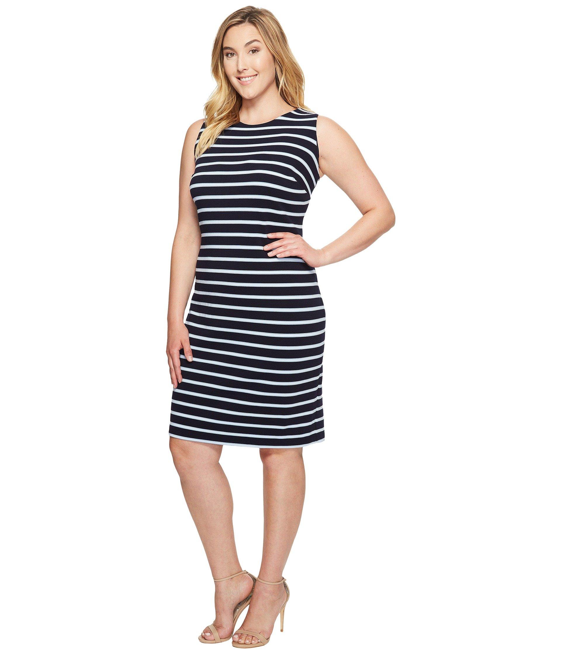 1920x2240 Calvin Klein Plus Women's Clothing Plus Size Sleeveless Textured