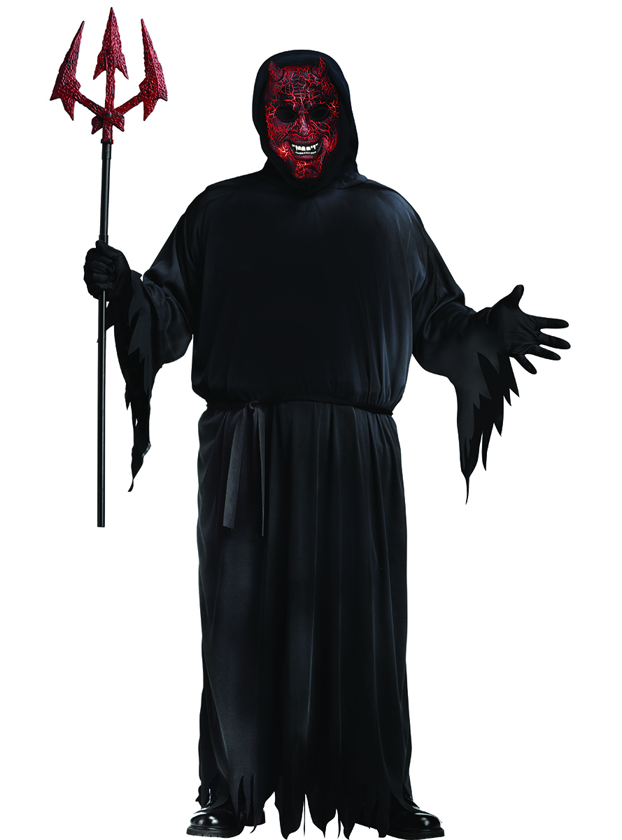 889x1200 Men's Plus Size Wicked Demon Costume