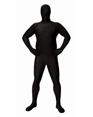 380x480 Super Skins Black Skin Suit Adult Mens Plus Size Costume