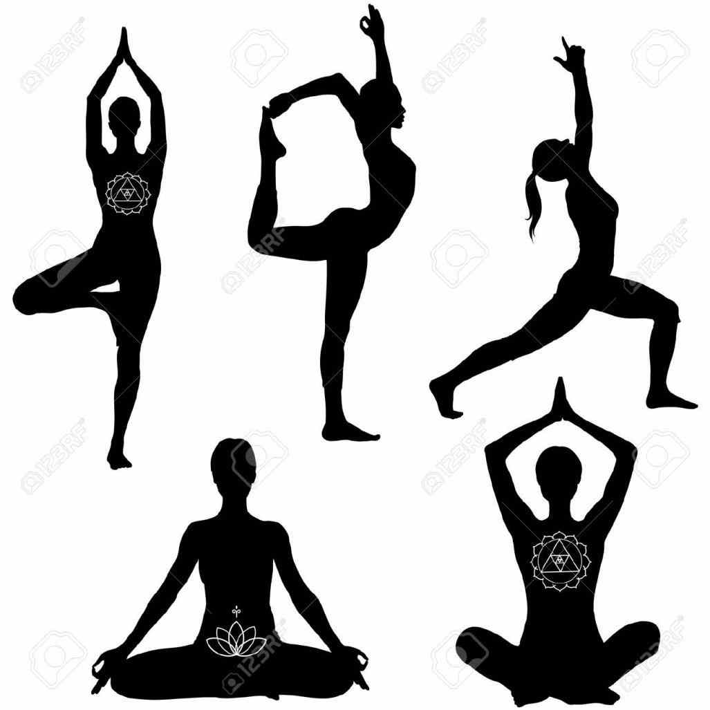 1027x1027 Clip Art Graphics Clip Yoga Poses Clipart Art Silhouette Graphics