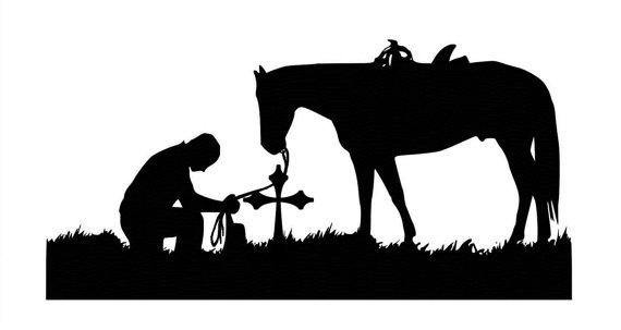 570x303 Cowboy Clipart Prayer