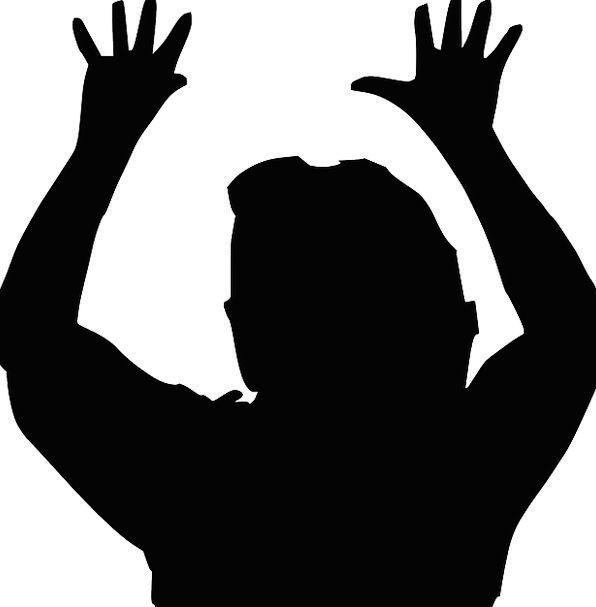 596x607 Praying, Requesting, Pointer, People, Public, Hand, Loud, Man
