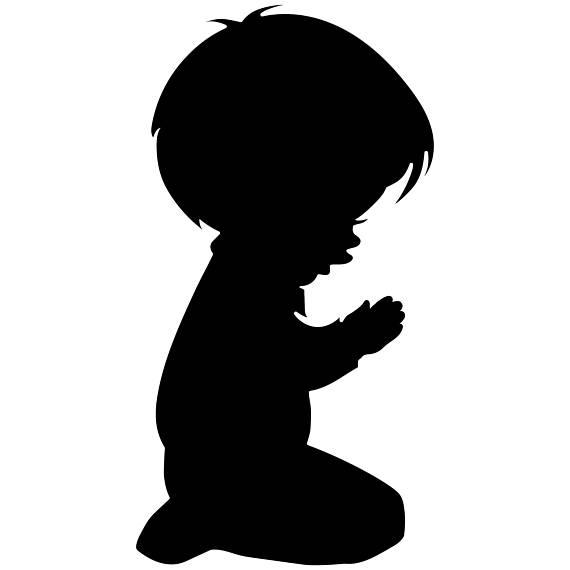 570x570 Praying Child Svg, Christian Svg, Religious Svg, Praying Svg