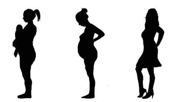 595x337 Pregnant, Expectant, Fashion, Gravidity, Beauty, Silhouette