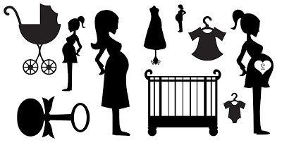 400x206 Free Svg Babies Pregnancy Mum To Be Cot Rattle Pram Onsie Baby