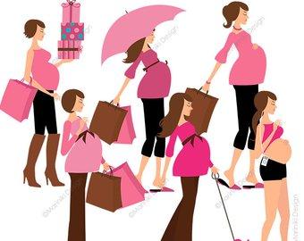 340x270 Pregnant Umbrella Etsy