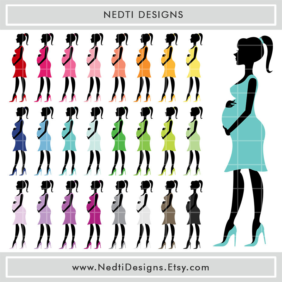 936x936 Pregnant Woman Clipart Baby Shower Free