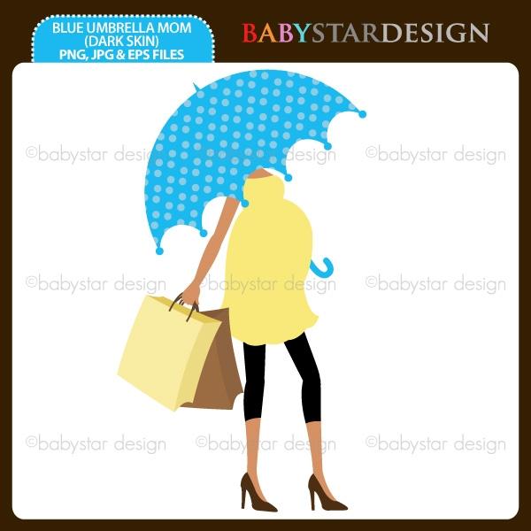 600x600 Umbrella Clipart Pregnant Woman 4021576