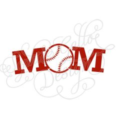 236x236 Ball Amp Bat Baseball Monogram Svg, Dxf Digital Download Files
