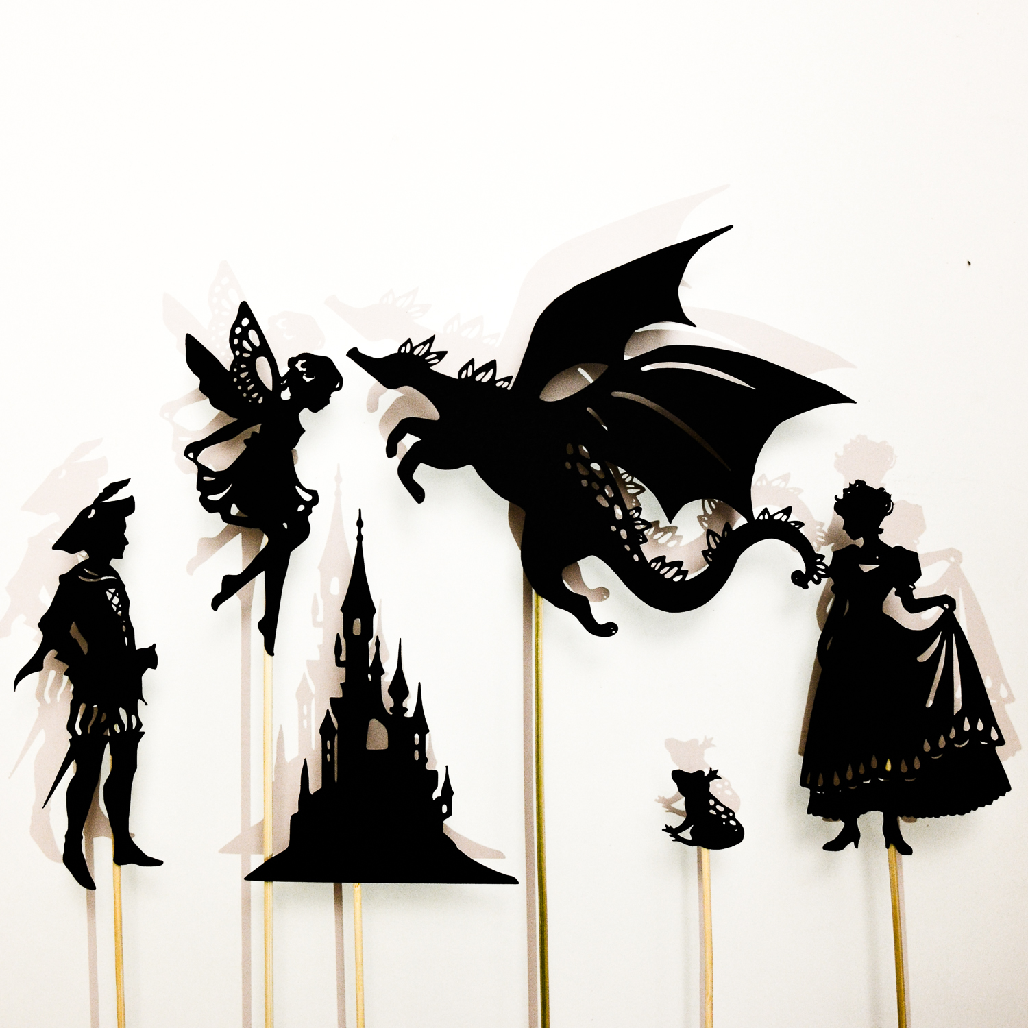 1500x1500 Make A Fairy Tale Shadow Puppet Set