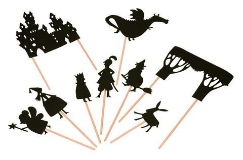 480x317 Fairy Tale Shadow Puppets