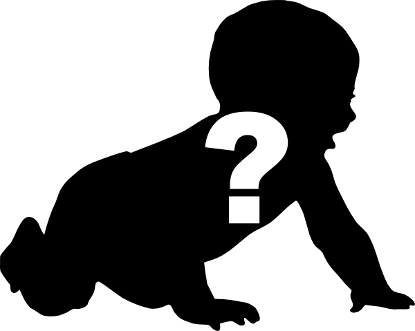 Silhouette Question Mark