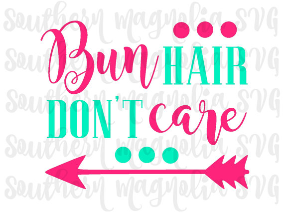 570x427 Bun Hair Don'T Care