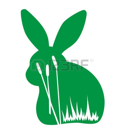 427x450 Paper Rabbit Cliparts, Stock Vector And Royalty Free Paper Rabbit