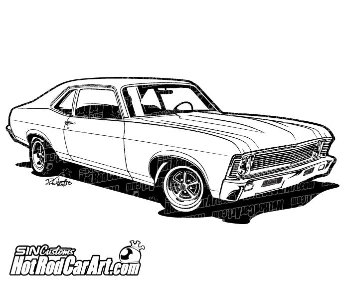 700x569 1969 Chevrolet Nova Muscle Car