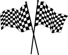 236x191 Race Flags Svg File, Cricut And Silhouettes