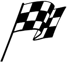 236x218 Chequered Racing Flags Vector Silhouette Flags, Silhouettes