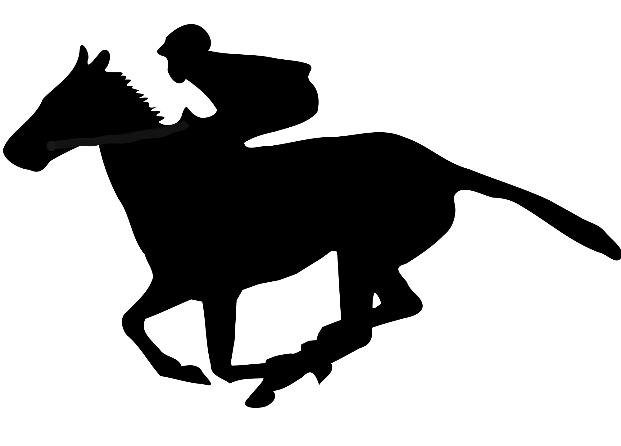 2000x1436 Fileflat Racing Clipart.svg