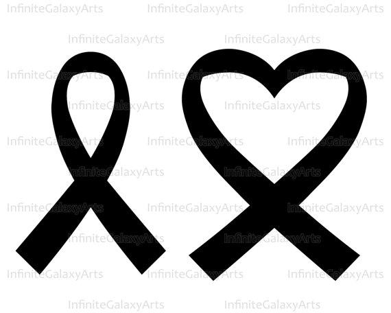 570x456 Heart Cancer Ribbon