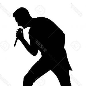 300x300 Photostock Vector Cartoon Rock Band Musicians And Singer Flat