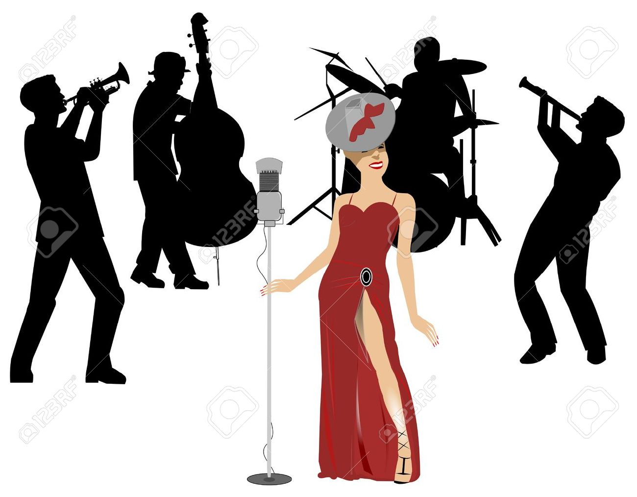 1300x1014 Clipart Band