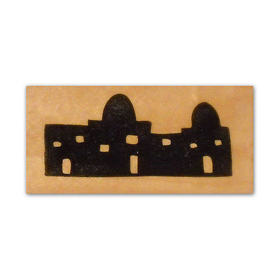 400x400 Magi Camels Silhouette Unmounted Rubber Stamp Religious