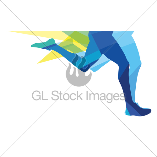 500x500 Legs Runner Transparent Colors Gl Stock Images