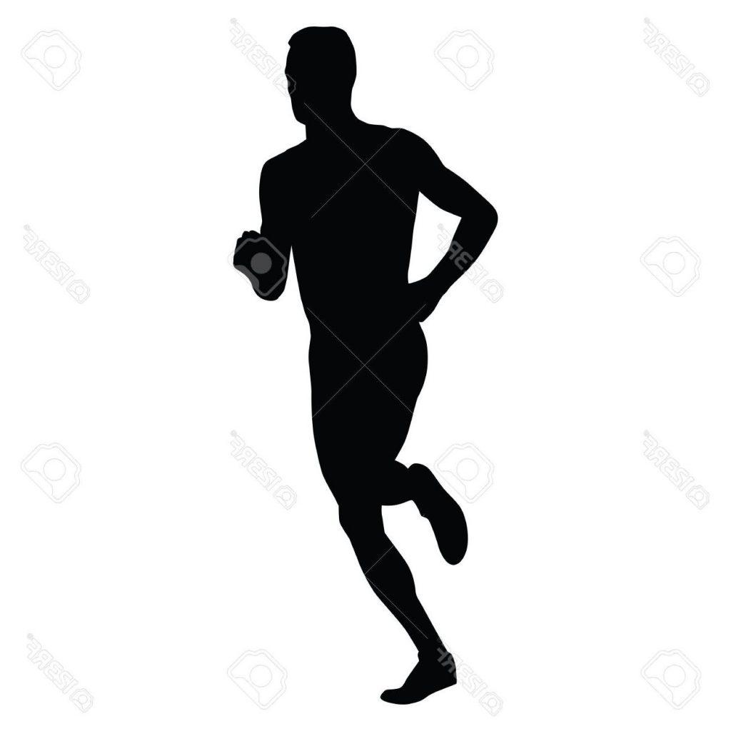 1024x1024 Best Vector Runner Running Man Silhouette Run Sport Active Boy