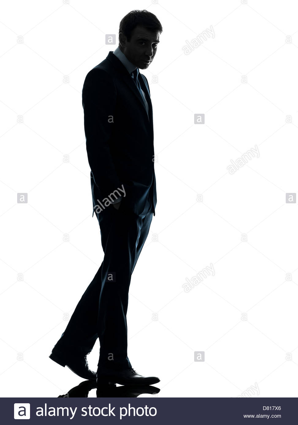 973x1390e Business Man Sad Full Length In Silhouette Studio Isolated