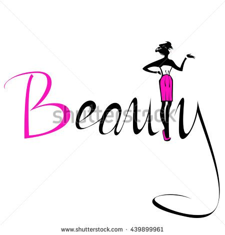 450x470 Beautiful Silhouette Woman In Pink Skirt Beauty Logo, Symbol, Icon