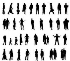 236x206 23 Best Human Scale Amp Silhouette Images